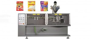 3 sides sachet sugar flat pouch packing machine