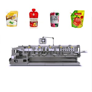 Factory directly supply Liquid Paste Sachet Packaging Machine -
