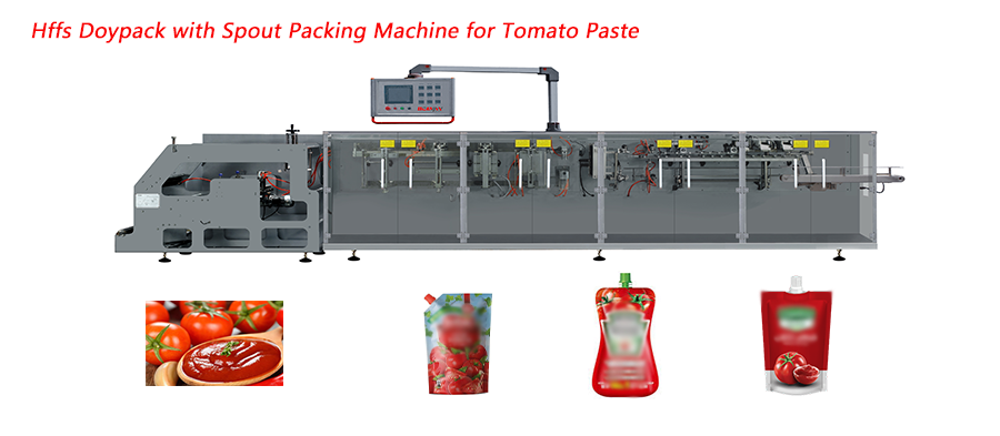 BHD-180SC Doypack Packing Machine with Spout for Tomato Paste Featured Image
