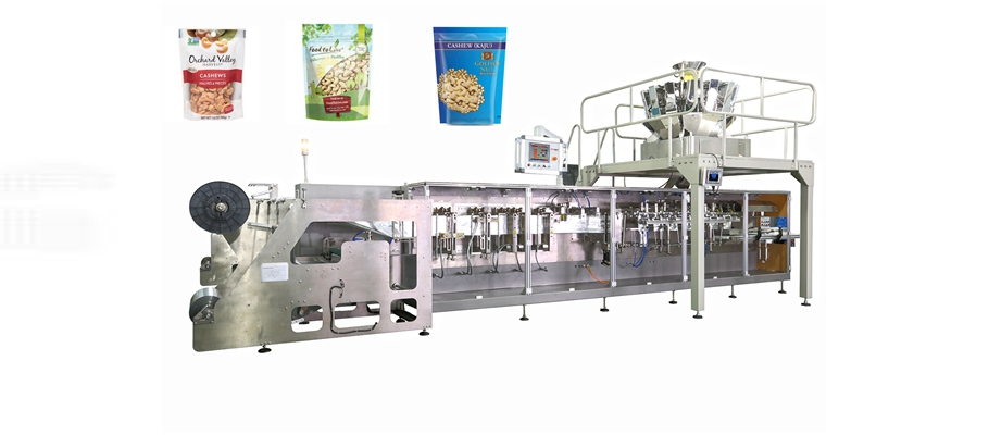 Cashew Nut doypack(standup pouch)Packing Machine Featured Image