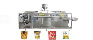 Dried Mango Zipper Premade Bag Packaging Machine