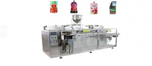 Horizontal Premade Bag Pouch Packing Machine