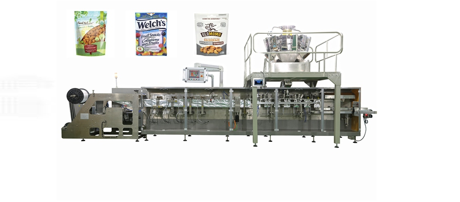 automatic stand-up zipper pouch packing machine Featured Image