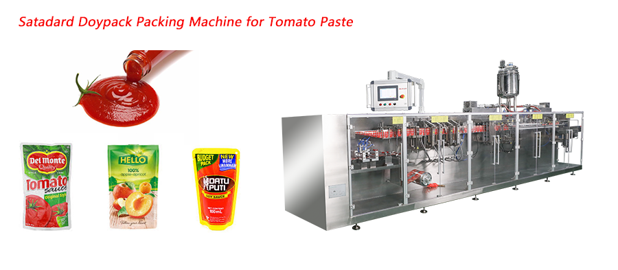 Horizontal Stand Up Pouch Doypack Packing Machine Featured Image