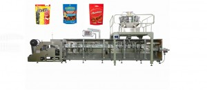 candy chocolate Plastic zipper pouch packaging machine