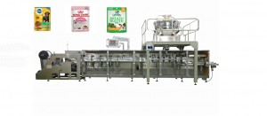 cat dog food zipper bag packing machine