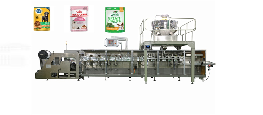 cat dog food zipper bag packing machine Featured Image