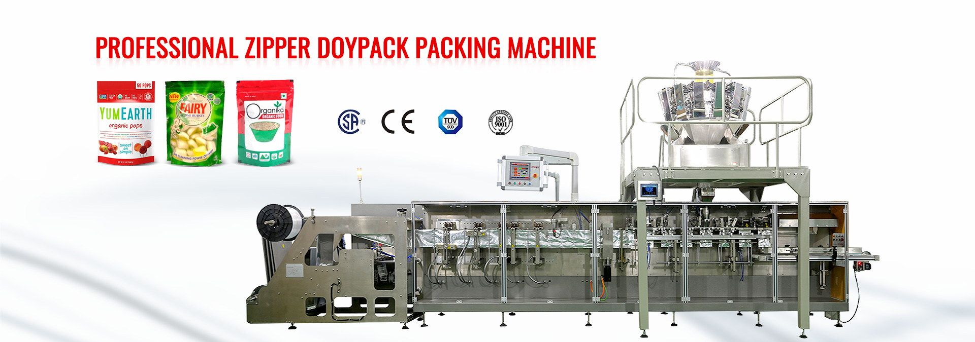 multilane stickpack machine