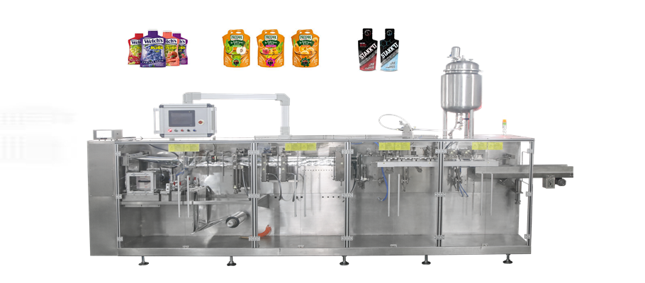 fruit juice Irregular Shaped Sachet Packaging Machine Featured Image