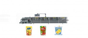 fruit orange juice doypack(standup pouch)Packing Machine