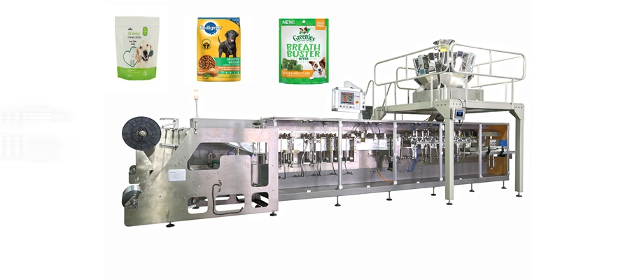 hffs horizontal pet food form fill seal packing machine Featured Image
