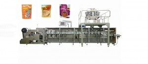 horizontal zipper stand up packaging machine BHD-180SC